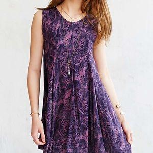 Clary Godet Trapeze Dress